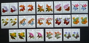 2 x Grenada 1994 Mi. 2834-2847 I ** MNH Freimarken Schmetterlinge Butterflies