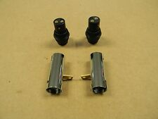 MODEL T FORD D.C. HEAD LIGHT SOCKETS AND PLUGS SET OF 2 EACH BELOW RETAIL