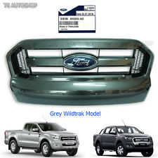 Grey Wildtrak Front Grill Facelift Ford Ranger Px2 Mk2 Truck 2015 2016 Genuine