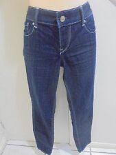EXPRESS JEANS NWOT SIZE 8 ULTRA SKINNY LOW RISE BLUE DENIM JEANS