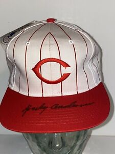 Sparky Anderson Autographed Hat Signed PSA COA! Cincinati Reds