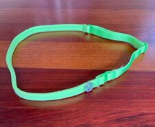 NEW NWOT Lululemon Zippy Lime Green Strappy Adjustable Thin Headband RETIRED NWT
