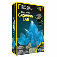 National Geographic Blue Crystal Growing Lab STEM Educational Activity for Kids