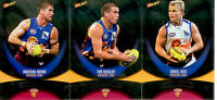 2011 Select AFL Champions Silver Holofoil Parallel Card Team Set (11)-Brisbane