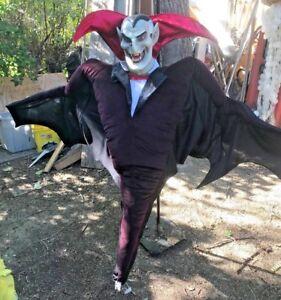 """Vintage Mario Chiodo Studios Life Size 52""""Hanging Dracula Vampire Halloween Prop"""