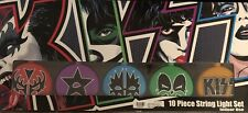 Kiss 10 Piece String Light Set Never Opened Official 2003 Kiss Catalog