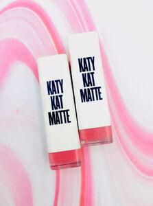 2x COVERGIRL Katy Perry Katy Kat Matte Lipstick KP03 Magenta Minx *SEALED* .12oz