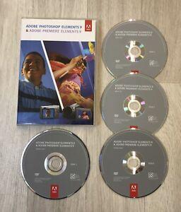 Adobe Photoshop Elements 9 & Premiere Elements 9 PC & MAC