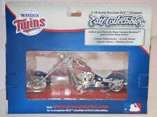 2007 ERTL MLB Minnesota Twins OCC Die-cast Chopper Motorcycle