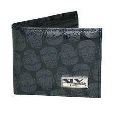 Mens cheap wallet accessories SUGAR SKULL WALLET