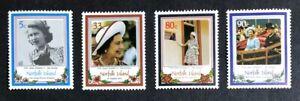 Norfolk Island - 1986 - Queen Elizabeth II - 60th Birthday - Unmounted Mint.