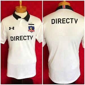 NEW! Under Armour Colo-Colo Soccer Futbol Jersey Medium DIRECTV Chile