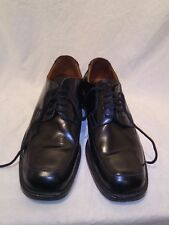 reiss mens black leather lace up shoes uk 42 ref ba07
