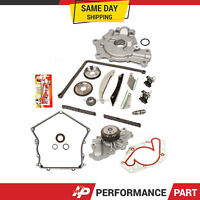 Timing Chain Kit Cover Gasket Water Pump Oil Pump for 07-08 Dodge Chrysler 2.7