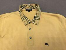 original BURBERRY Herren Polo Shirt, Freizeithemd, Poloshirt, Größe M, 48