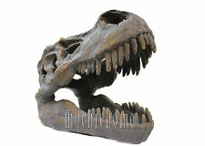 T-Rex Skull Head Decor | Dinosaur Sculpture | Tyrannosaurus Rex