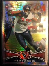 Arian Foster 2012 Topps Chrome Prism Refractor /216 Houston Texans