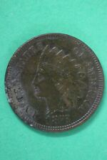 1875 Indian Head Cent Penny Bronze Exact Coin Pictured Flat Rate Shipping OCE 05