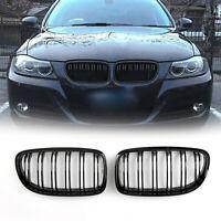 Front Kidney griglia anteriore Gloss Black Per BMW E90/E91 LCI 3Series 2008-2012