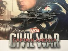 HOT TOYS WINTER SOLDIER guerre civile MMS351 HEAVY MACHINE GUN loose échelle 1/6th