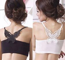 Women's Bandeau Petite Vest Top, Strappy, Cami Tops & Shirts