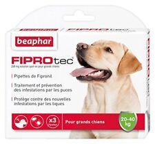 Beaphar FIPROtec 3 pipettes au Fipronil contre Puce/tiq