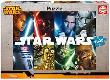 PUZZLE 1500 PIEZAS teile pieces STAR WARS - EDUCA 16312