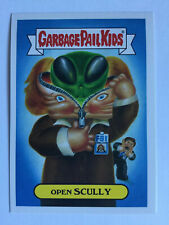 Garbage Pail Kids Prime Slime Trashy TV Sticker Reboot TV 1a Open Scully X-Files