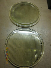 VINTAGE HEADLIGHT GLASS LENSES CIRCA 20'S FITS?