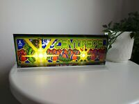 "CENTIPEDE Backlit 4"" x 11"" Marquee w/ The Arcade Light Box Display"
