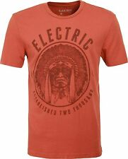 Electric Sacred Short Sleeve Tee T-Shirt (M) Rust