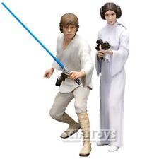 New Star Wars Luke Skywalker & Princess Leia Artfx+ Figure Statue Kotobukiya