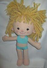 """Playskool DRESSY DAISY 14"""" Plush Doll Toy stuffed, dated 2007"""