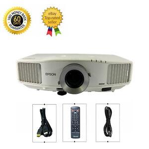 Epson PowerLite Pro G5650W 3LCD Projector 4500 ANSI 16:10 HD 1080i HDMI w/Remote