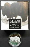 2014 CANADA ~ THE BISON ~ THE BULL AND HIS MATE ~ SILVER PROOF ~ FREE SHIPPING