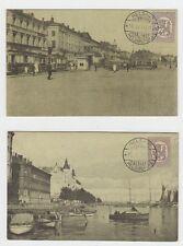 14003-Finland, Helsinki, 2 old cards 1920, unused