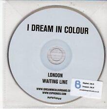 (DD650) I Dream In Colour, London / Waiting Line - 2012 DJ CD