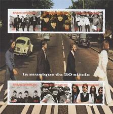 Abbey Road de los Beatles John Lennon Muhammad Ali Sheetlet 2012 sello de menta