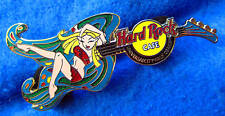 UNIVERSAL CITYWALK OSAKA FLOWER FAIRY GIRL GUITAR SERIES Hard Rock Cafe PIN LE
