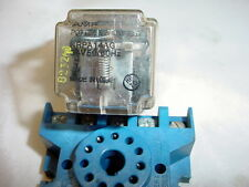 Potter & Baumfield KRAPA14AG Relay & Socket 24V 50/60 Hz 10A 120V 6A 2540V
