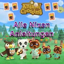 🐨 Animal Crossing New Horizons 🐨 ALLE Nixen Anleitungen, schnelle Lieferung 🐨