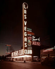 1949 DOWNTOWN LAS VEGAS Glossy 8x10 Photo Casino Print Fremont Street Poster