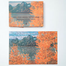 "Vintage Tuco Jigsaw Puzzle ""Autumn in the Tetons"" 100+ pcs Grand Teton Park, WY"