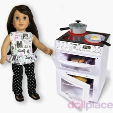 18 inch Doll Stove Oven Kitchen Furniture Accessories Food fits American Girl