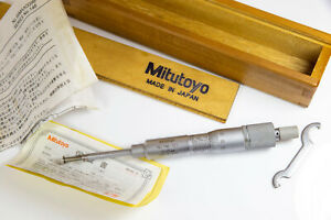 Mitutoyo 146-121 Groove Micrometer 0-25mm
