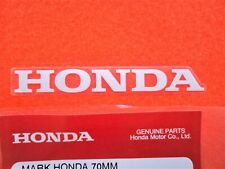 HONDA GENUINE MARK WHITE STICKER 70mm DECAL LOGO BADGE *UK STOCK*