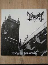 MAYHEM LP De Mysteriis Dom Sathanas (Instrumental) White Vinyl NEW