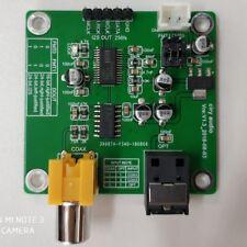 DIR9001 module coaxial / fiber optic reception SPDIF to I2S output 24bit 96khz