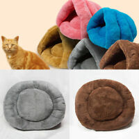 Sac Couchage Tapis Coussin Lit Velours Panier Douillet Pour Chien Chat Chihuahua