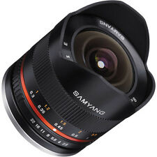 Samyang 8mm F2.8 UMC Fisheye II (Black) Lens for Sony E-Mount (NEX) Cameras
